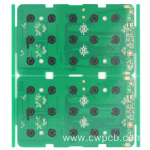 Carbon ink 1.0mm 1OZ double layer circuit board